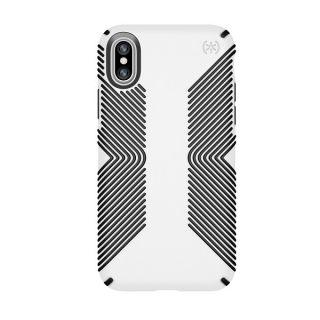 Speck Presidio Grip iPhone X tok - fehér/fekete