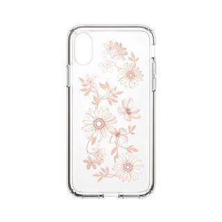 Speck Presidio Clear+Print iPhone XS/X tok - barackvirág