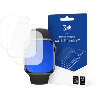 3mk Apple Watch 44mm teljes kijelzővédő fólia - 3db