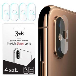 3mk FlexibleGlass iPhone XS Max kamera lencsevédő üvegfólia - 4db