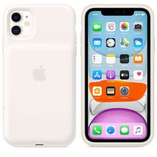 Apple iPhone 11 Smart Battery Case - fehér