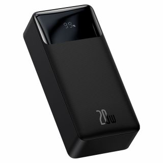 Baseus Bipow Digital 20W Power Bank 30.000mAh külső akkumulátor - fekete