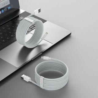 Baseus Wisdom Lightning - USB-A kábel - 1,5m - 2db