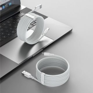 Baseus Wisdom USB-C - USB-A kábel - 1,5m - 2db