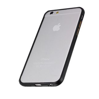 iPhone 6/6s Alumínium Bumper Slim - fekete