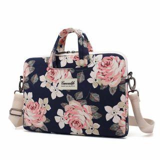 """Canvaslife Briefcase MacBook 13"""" táska - sötétkék"""