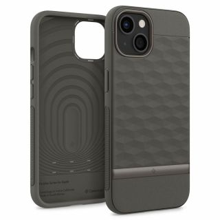 Caseology Parallax iPhone 13 ütésálló szilikon hátlap tok - szürke