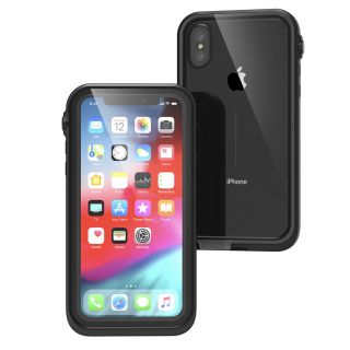 Catalyst Waterproof iPhone XS vízálló tok - fekete