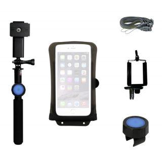 DiCaPac iPhone vízálló tok (nagy) + övcsipesz + szefibot + Bluetooth kioldó