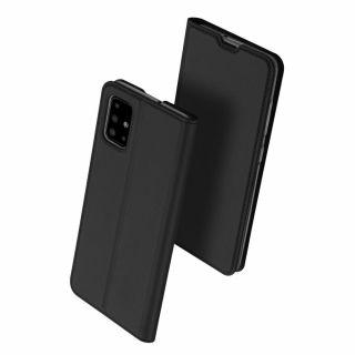 Dux Ducis Skin Pro Samsung Galaxy A51 kinyitható tok - fekete
