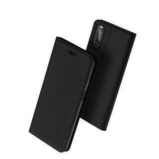 Dux Ducis Skin Pro Sony Xperia 10 II kinyitható tok - fekete