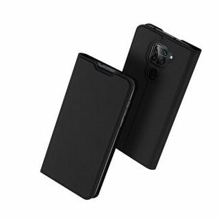Dux Ducis Skin Pro Xiaomi Redmi Note 9 kinyitható tok - fekete