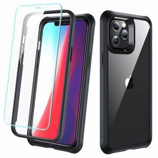 ESR Alliance Tough iPhone 12 Pro Max ütésálló tok és kijelzővédő üvegfólia
