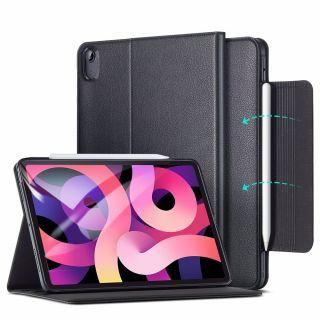 ESR Business iPad Air 4 (2020) bőr tok - fekete