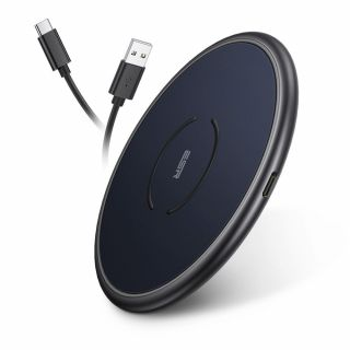 ESR HaloLock Magsafe iPhone Qi vezeték nélküli gyorstöltő - kék
