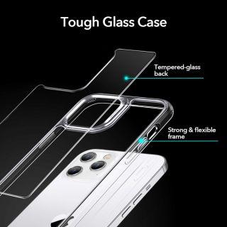 Az ESR Ice Shield iPhone 12 / 12 Pro szilikon tok kristálytiszta, átlátszó kiegészítő.