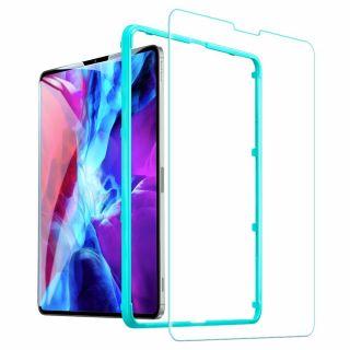 """ESR iPad Pro 12,9"""" (2020/2018) kijelzővédő üveg felhelyezővel"""