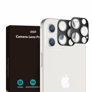 Az ESR iPhone 12 Pro Max kamera védő üvegfólia tökéletesen illeszkedik.