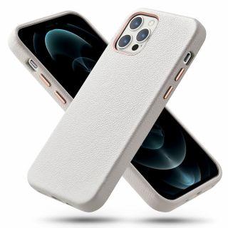 A bőr alapanyagnak köszönhetően az ESR Metro Premium iPhone 12 / 12 Pro bőr tok minden modellje teljesen egyedi.