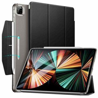 """ESR Ascend Trifold iPad Pro 12,9"""" (2021) kinyitható tok - fekete"""