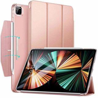 """ESR Ascend Trifold iPad Pro 12,9"""" (2021) kinyitható tok - rózsaszín"""