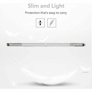 """ESR Ascend Trifold iPad Pro 12,9"""" (2021) kinyitható tok - ezüst szürke"""