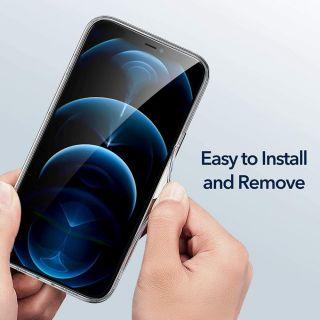 ESR Classic Hybrid FC iPhone 12 Pro szilikon hátlap tok - átlátszó