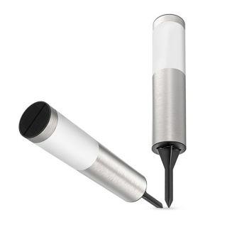 FDTWLV Inox napelemes kerti lámpa - 56cm