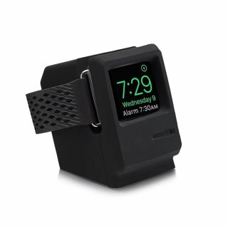 Retro Apple Watch dokkoló - fekete