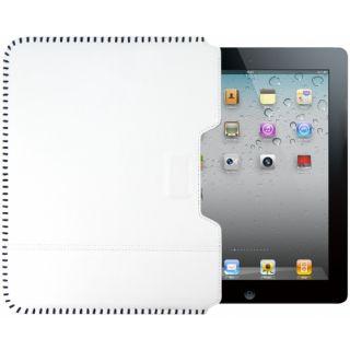 Ozaki iCoat Sew White iPad 2/3/4 tok - fehér