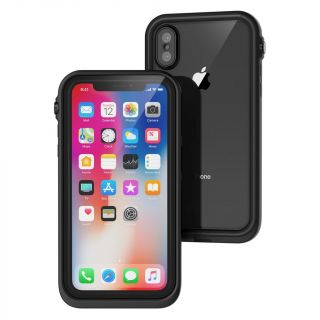 Catalyst Waterproof iPhone X vízálló tok - fekete