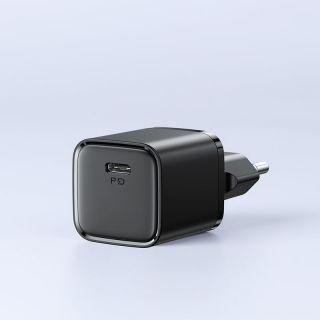 Joyroom L-P202 USB-C PD20W QC3.0 USB hálózati töltő 20W - fekete