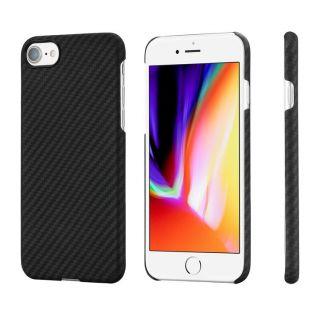 Pitaka Aramid MagEZ iPhone SE (2020) / 8 / 7 carbon tok - fekete