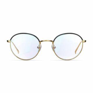 Meller Yuda kékfény szűrő monitor szemüveg - arany/fekete