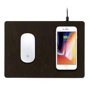 Minibatt PowerPad egéralátét és Qi vezeték nélküli töltő - fekete