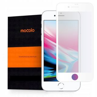 Mocolo iPhone SE (2020) / 8 / 7 / 6s / 6 teljes kijelzővédő üveg - fehér