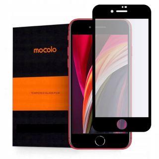 Mocolo iPhone SE (2020) / 8 / 7 / 6s / 6 teljes kijelzővédő üveg - fekete