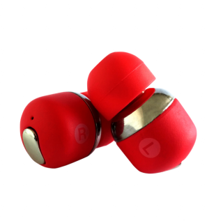 Muzix YA Air Twins TWS Bluetooth headset - piros