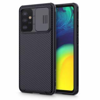 Nillkin CamShield Pro Samsung Galaxy A52 LTE / 5G kameravédő hátlap tok - fekete