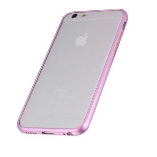 iPhone 6/6s Alumínium Bumper Slim - rózsaszín
