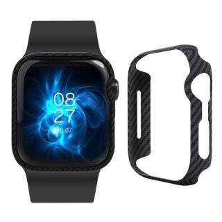 Pitaka Aramid Air Apple Watch 44mm carbon tok - fekete