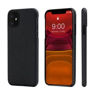 Pitaka Aramid MagEZ iPhone 11 carbon tok - fekete