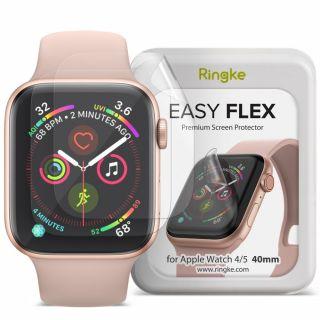 Ringke Easy Flex Apple Watch 40mm teljes kijelzővédő fólia - 3db