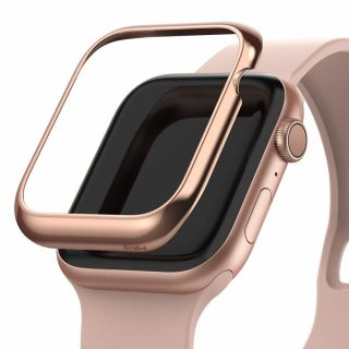 Ringke Bezel Styling Apple Watch 40mm keret tok - rozéarany