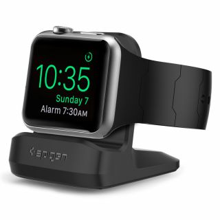 Spigen S350 Night Stand Apple Watch állvány - fekete
