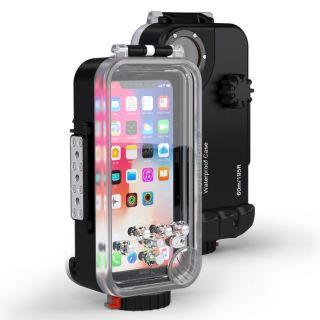 SeaFrogs iPhone XS / X búvártok - 60m vízálló