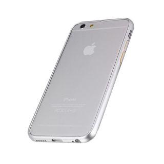 iPhone 6/6s Alumínium Bumper Slim - ezüst