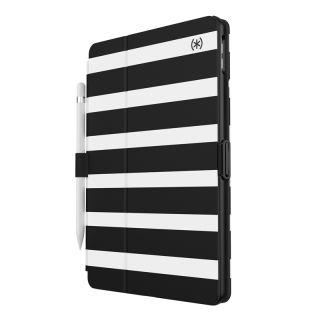 """Speck Balance Folio+Print iPad 10,2"""" (2020/2019) kinyitható tok - csíkos"""