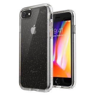 Speck Presidio Perfect-Clear Glitter iPhone SE (2020) / 8 / 7 tok - átlátszó