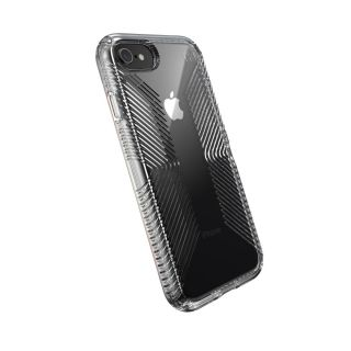 Speck Presidio2 Clear Grip iPhone SE (2020) / 8 / 7 ütésálló tok - szürke
